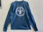 Ocean Blue Long Sleeve Resist Extinction Shirt