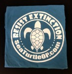Ocean Blue Resist Extinction T-Shirt